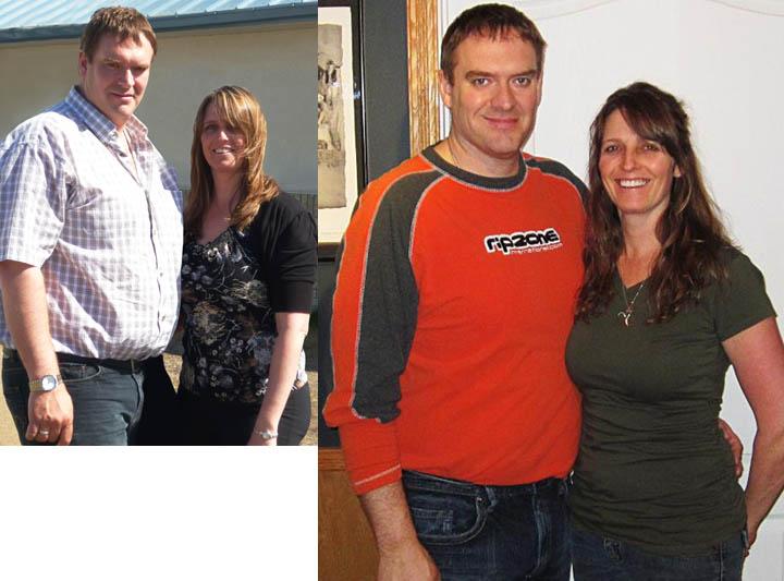 USANA's Patrick & Cheryl O'Flynn have lost a combined 57 pounds.