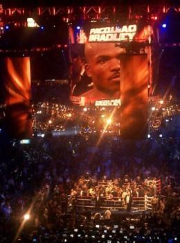 "USANA-sponsored Timothy ""Desert Storm"" Bradley won a split decision over Manny ""Pacman"" Pacquiao on June 9, 2012."