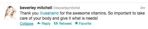 Beverly Mitchell Tweet