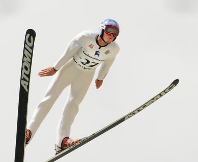 Billy Demong ski jumping