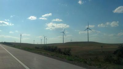 Wind power in Kansas 8/12/2012