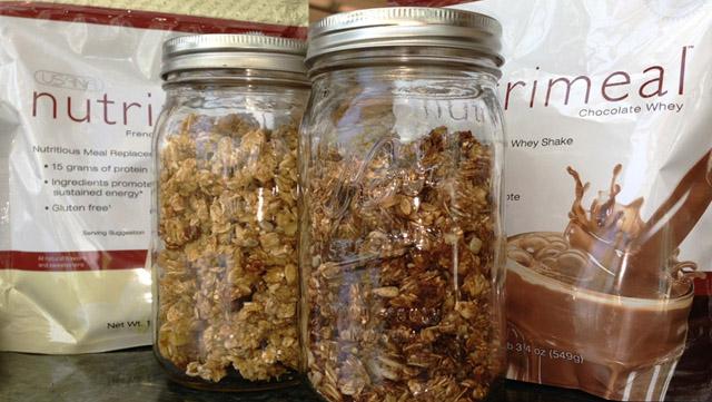 USANA Test Kitchen Granola May 2013 Featured