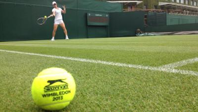 Sam Stosur, USANA Brand Ambassador, is currently competing at Wimbledon. Photo courtesy of Sam's Facebook page.