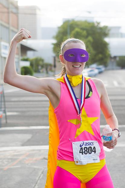 Evelyn Young, female 5k winner