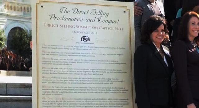 Direct Selling Proclamation Featured
