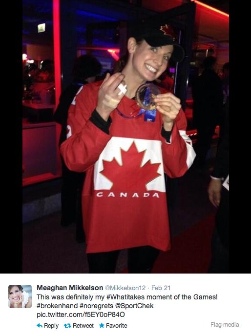 Meaghan Mikkelson-Reid Wins Gold in Sochi