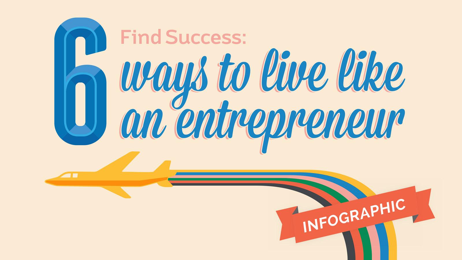 Entrepreneur Infographic Banner