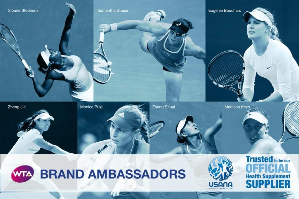 WTA Brand Ambassadors