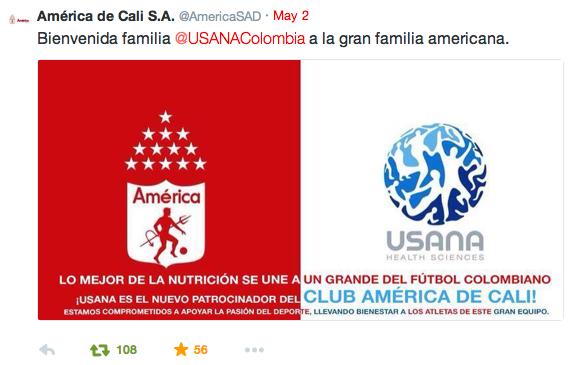 USANA Athletes: Colombia and AmericanSAD