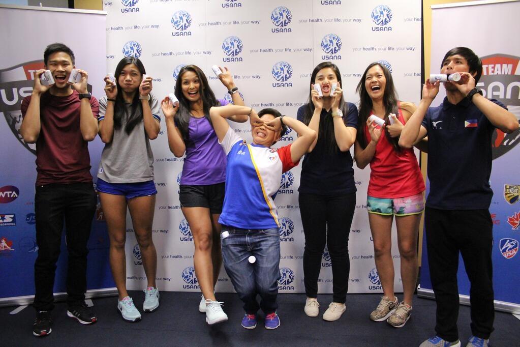 USANA Athletes: Team USANA Pilipinas Ambassadors