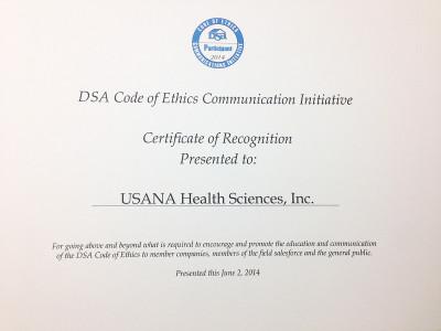DSA Code of Ethics