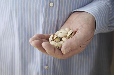 handful of pistachios