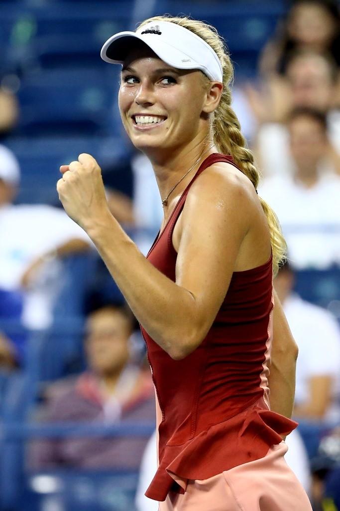 Caroline Wozniacki, US Open (Getty Images)