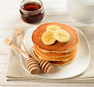 Healthy Foods for Kids - Banana Pancakes