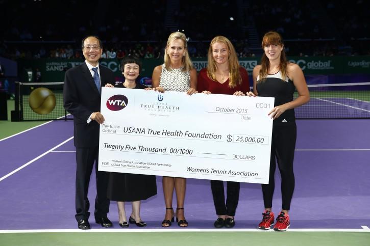 BNP Paribas WTA Finals: Singapore 2015 - Getty Images