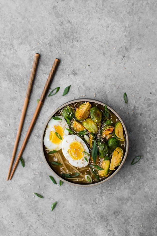 vegetarian ramen bowls
