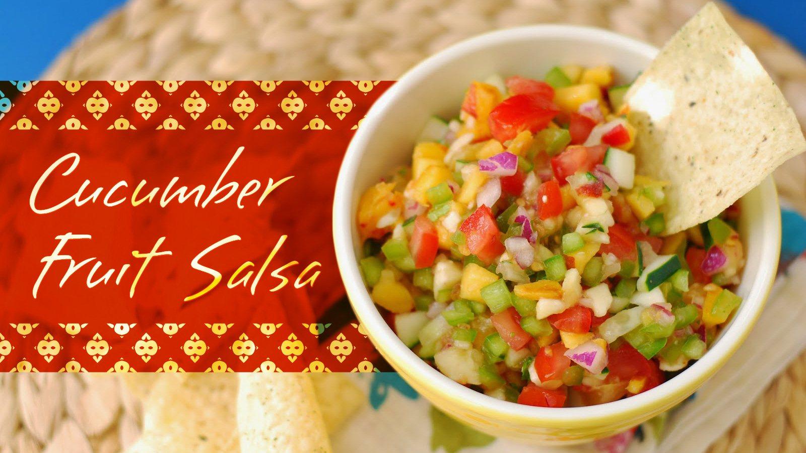 Cucumber Fruit Salsa