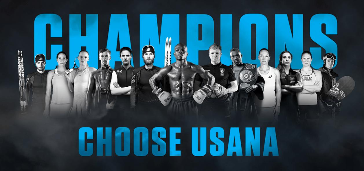 Champions Choose USANA