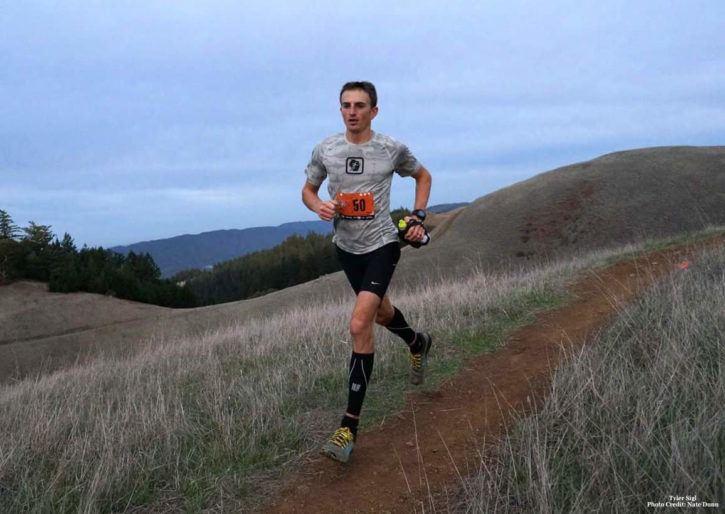 Tyler Sigl trail run. Photo credit Nate Dunn