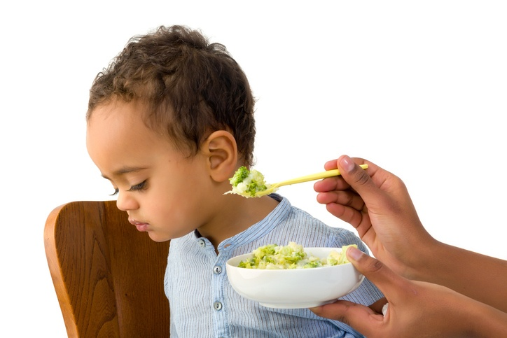 18 months old toddler refusing to eat his vegetables