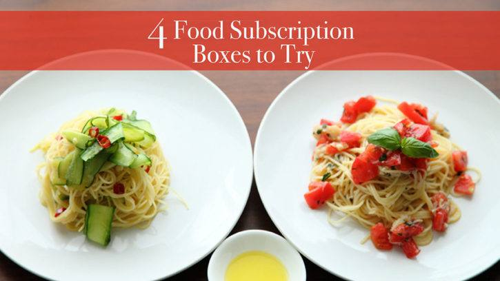 4 Food Subscription Boxes To Try // What's Up, USANA?