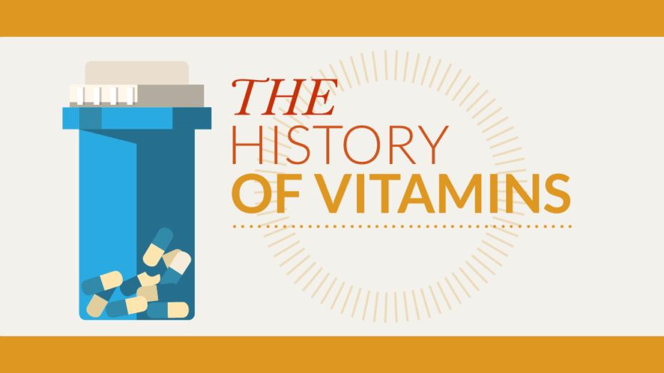 history of vitamins