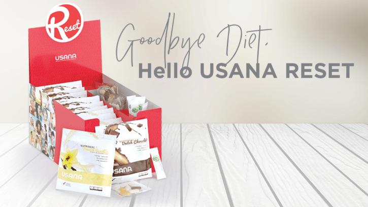 USANA RESET: Goodbye Diet, Hello USANA Reset