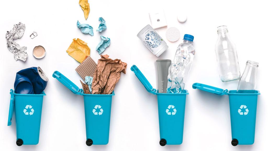 reusing plastic bottles: recycling