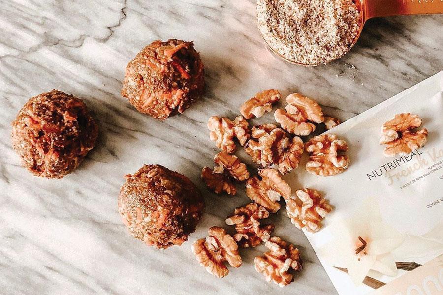 Healthy Vanilla Protein Balls