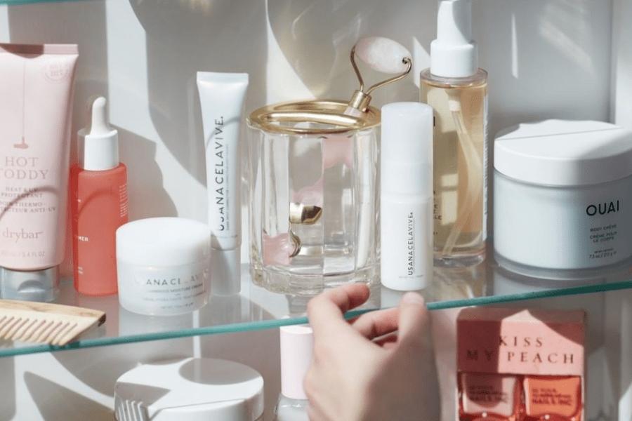 #shelfies mini skincare fridge