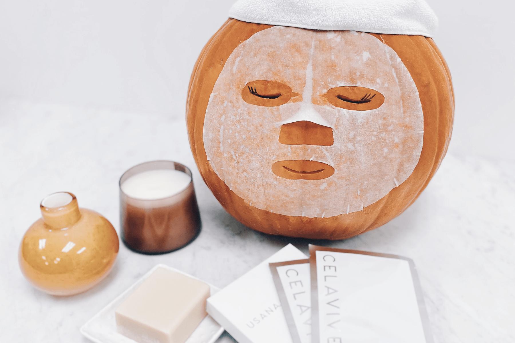 Pumpkin in Sheet Mask Faical Spa